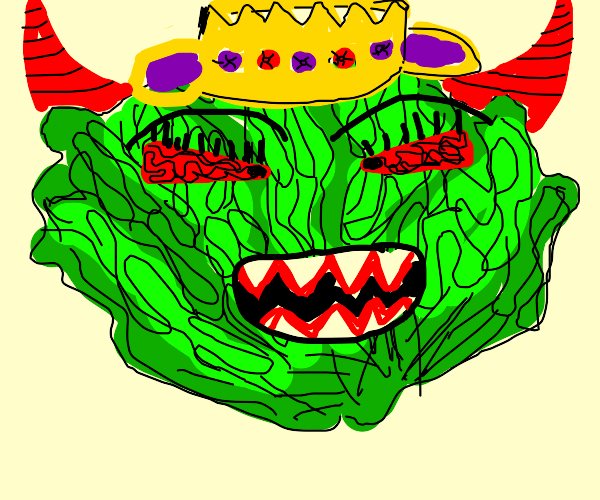 Evil lettuce queen