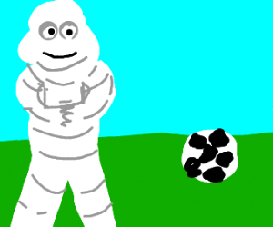 Michelin Man has no time for games