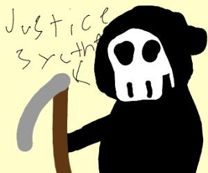 grim reaper of justice