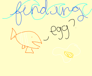 nemo find not fish egg