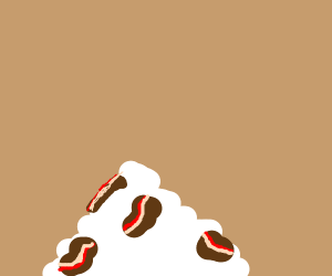 bacon and sour cream