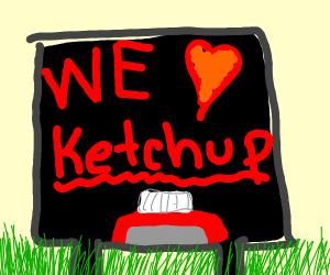 Ketchup Poster