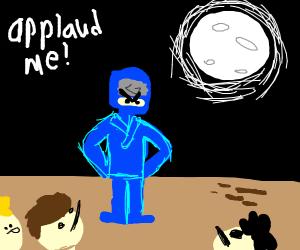 Applaud the ninja