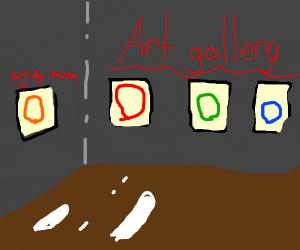 circle art gallery