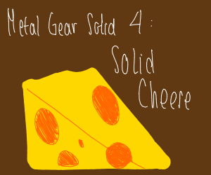 Metal Gear Solid 4, Solid Cheese