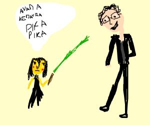 snape and pikachus child vs ian malcom
