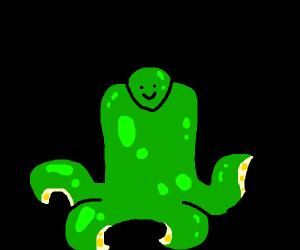 friendly looking troll monster man thing