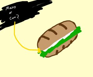 World's worst sandwish