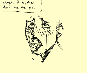 last panel supposed to draw ahegao but derail