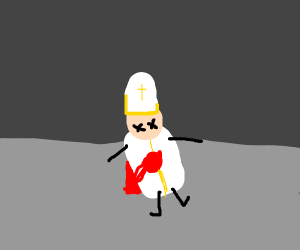 The Pope is dead