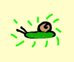 radioactive snail