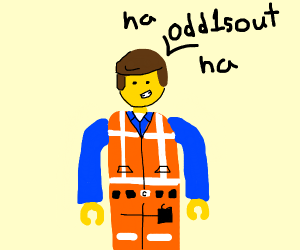 lego man laughin of odd1sout