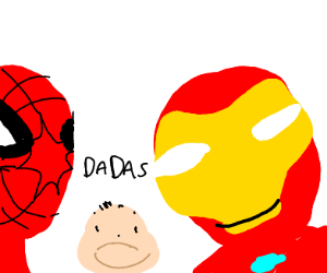 The child of Ironman and Spiderman