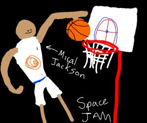 SPACE JAM SLAM DUNK