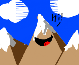 Talking mountain