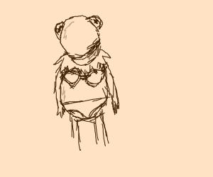 Kermit in a bikini