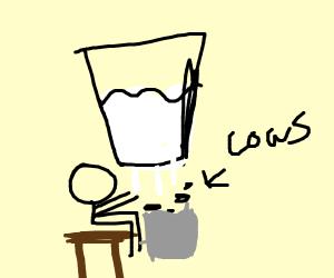 reverse milk