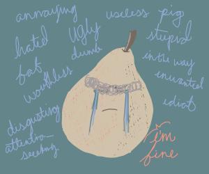 Depressed pear
