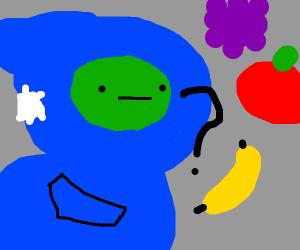 gingerpale deciding what fruit