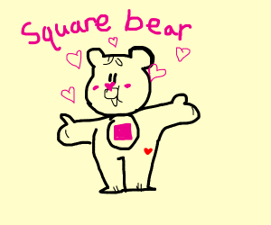 Square bear