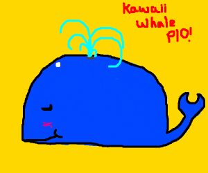 Kawaii whale pio