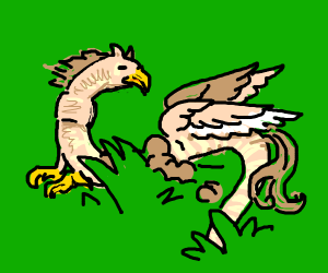 a hippogriff but its a worm