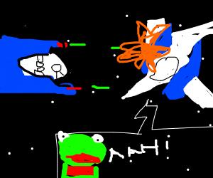 DNA kills slippy (pewds frog)
