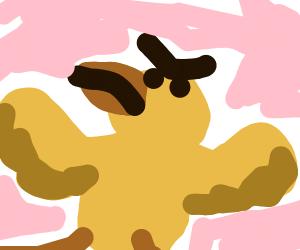 chicken man showdown
