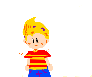lucas (mother 3) knows the crimes you've done