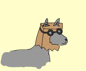 Dr. Flug as a Wolf