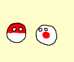 Poland Ball Imperial Japan