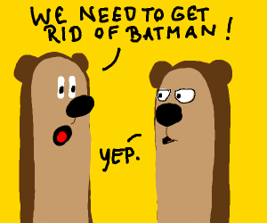 Two Bears talk about getting rid of the Bat M