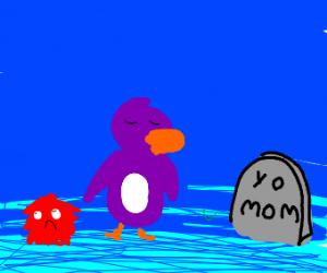 club penguin funeral