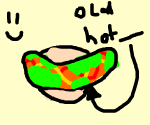old hot dog