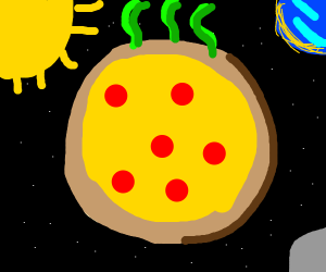 pizza planet is smelly