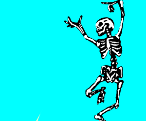 shake ur bones skeletons!