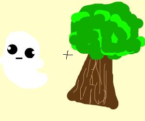 Ghost + tree
