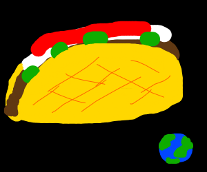 the biggest taco ever