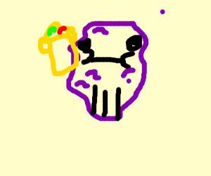 Thanos is a raisin
