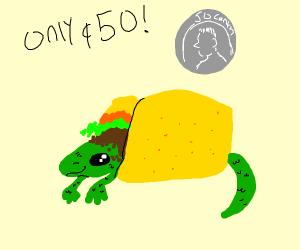 taco lizard 50 cents