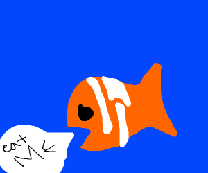 fish who wants to be eaten