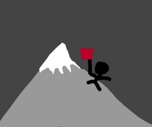 Time to climb the mountin