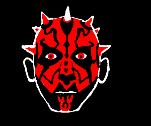 Darth Maul's head