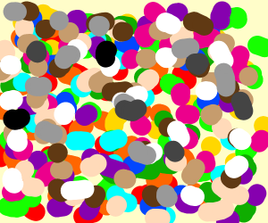 Every Colour As Dots