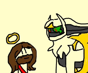 Jesus and Arceus