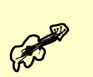 deformed guitar