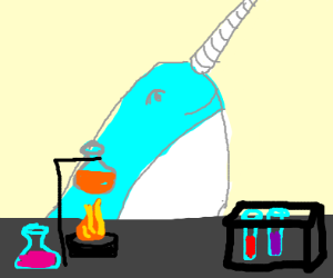 narwhal practicing science