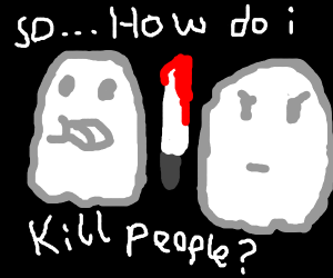 ghost asks for help