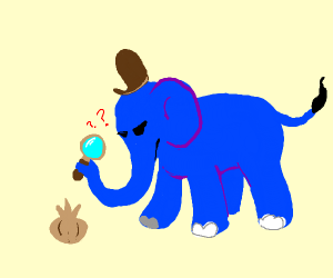 Detective Elephant confused about onions