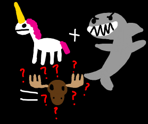 Unicorn+Shark+Moose=???